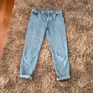 John galt high waisted mom jeans